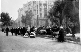 1941 год, Киев, погорельцы, бульвар Шевченко